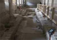 Des fouilles archéologiques mettent au jour un sarcophage