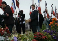 Inhumation de Raymond Aubrac